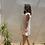 Thumbnail: Vestido blanco estampado