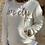 Thumbnail: Sudadera Lovely blanca