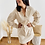 Thumbnail: Vestido micropana beige