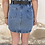 Thumbnail: Falda vaquera goma con cinturón