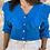 Thumbnail: Chaqueta volante azul