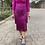 Thumbnail: Vestido flecos buganvilla