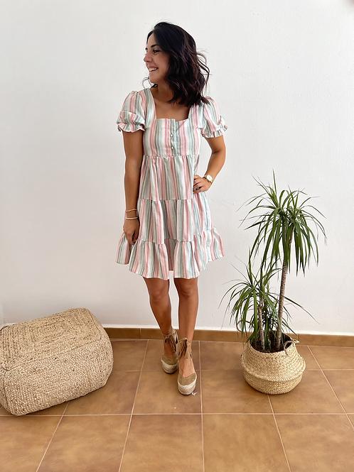 Vestido rayas Sofía
