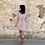 Thumbnail: Vestido gasa rosa
