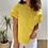 Thumbnail: Camiseta bolsillo básica amarilla