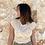 Thumbnail: Camiseta beige volante
