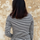 Thumbnail: Camiseta básica rayas marino