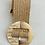 Thumbnail: Cinturón rafia hebilla dorada