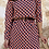 Thumbnail: Vestido estampado teja