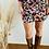 Thumbnail: Falda flores estampada