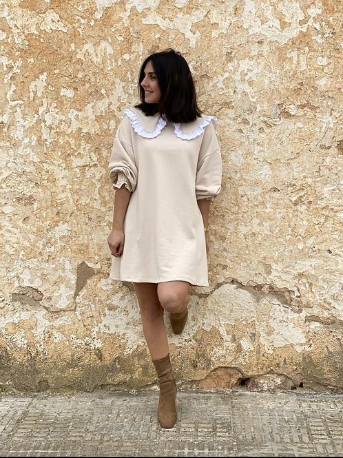 Vestido marta beige