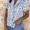 Thumbnail: Blusa estampada flores lila