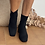Thumbnail: Botín calcetín negro