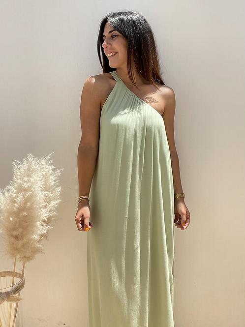 Vestido diana verde manzana