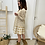 Thumbnail: Vestido cuadros beige