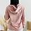 Thumbnail: Sudadera rosa capucha