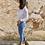 Thumbnail: Camisa blanca cuello mao