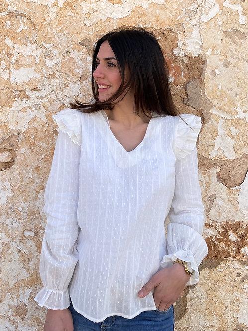 Blusa candela blanca