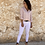 Thumbnail: Camisa blanca estampada