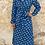 Thumbnail: Vestido azul animal print de ovejas