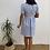 Thumbnail: Vestido botones azul