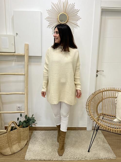 Jersey beige OVERSIZE