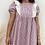 Thumbnail: Vestido cuadros rosa