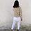 Thumbnail: Sudadera rayas beige
