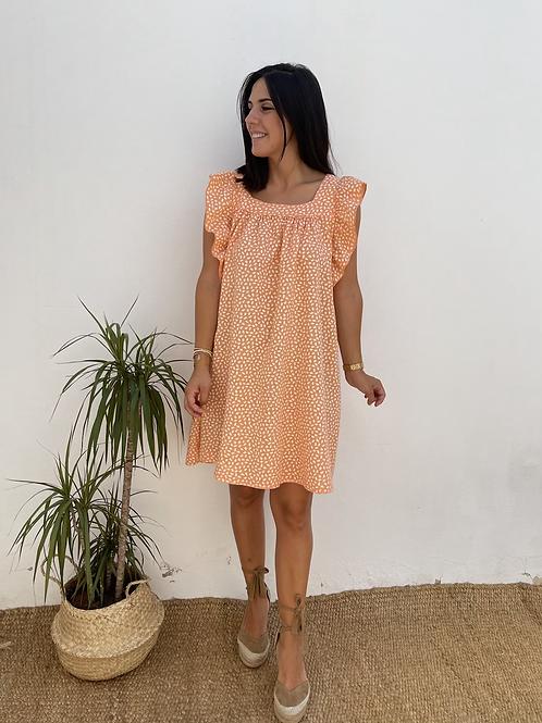 Vestido candela naranja