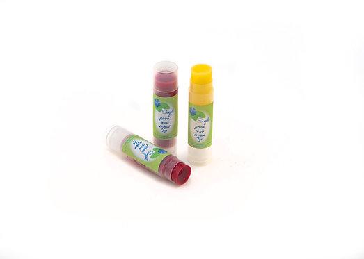 שפתון לשפתיים יבשות וסדוקות בריח וניל