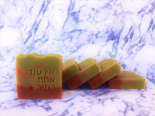 סבון חימר ורוד וירוק