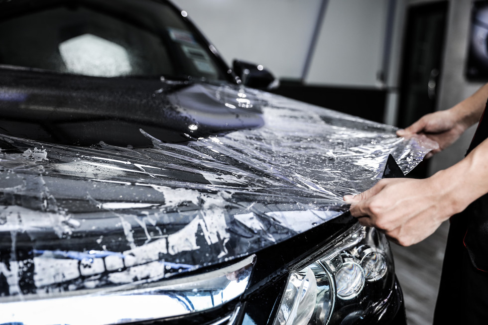 close-up-paint-protection-film-installat