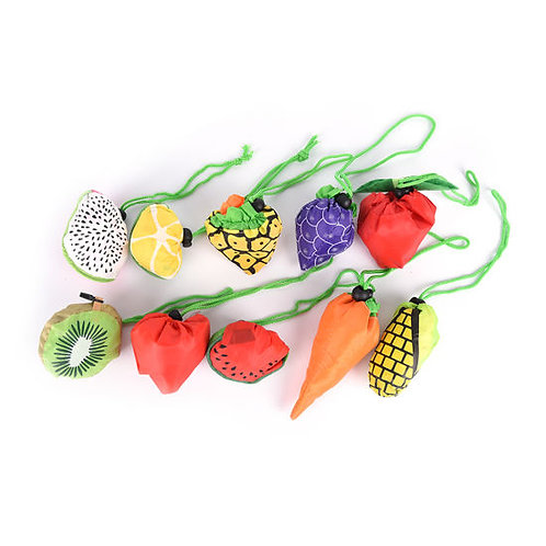 Fruit 'n Veg Reusable Bags in Pouch