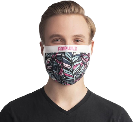 Buy customised cotton face mask by Logo Face Masks UK