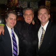 After the Baldwin Singers concert in New York, with R. Douglas Sheldon and Steve Ryan, December 2008