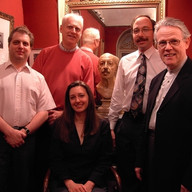 During the recording of the Widor Mass with Christopher Hyde, Camille Haedt, Mark Dwyer and Daniel Roth, May 2005