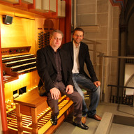 Concert, Essener Dom, Germany, September 2011, with Domorganist Jörg Schwab