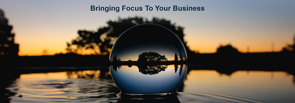 Introductory Image - Bringing focus to your business.
