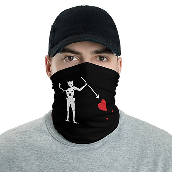 Custom printed face coverings, bandanas and snoods. Logo Face Masks UK.