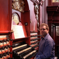 Recording in St. Bavo, Haarlem, September 2007