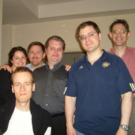 Recording bunch at the PNAC (with Meredith & Chris Berry, Christoph Frommen, Joe Vitacco, Michel Goussu), Rome, May 2008