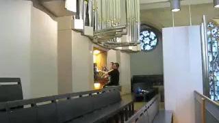 Concert Stiftskirche Stuttgart, Germany, Guilmant V. Finale, July 2008 -video courtesy of Pastor Wilfried Wassermann-