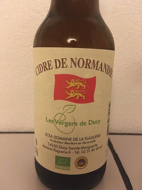 Mousserende cider 25 cl. 5% vol. Økologisk
