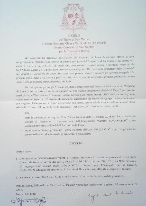 Decreto riconoscimento Coetus.jpg