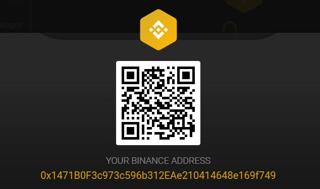 Binance Address