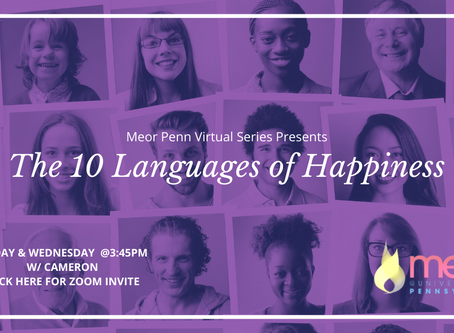 Simcha (Joy of Completion) - 10 Languages of Happiness