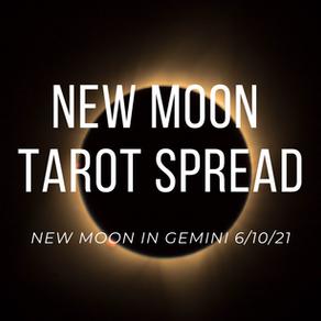New Moon in Gemini Tarot Spread