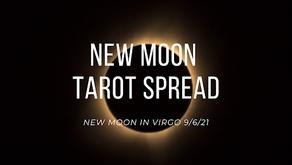 New Moon in Virgo Tarot Spread