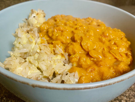 Recipe for Fall: Curried Lentils (vegan)
