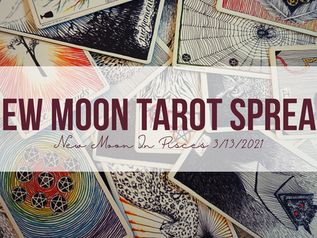New Moon in Pisces Tarot Spread
